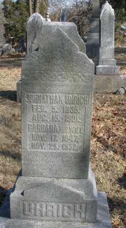 UHRICH, JONATHAN - Montgomery County, Ohio | JONATHAN UHRICH - Ohio Gravestone Photos