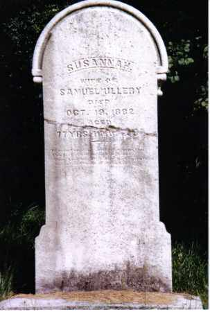 ULLERY, SUSANNAH - Montgomery County, Ohio | SUSANNAH ULLERY - Ohio Gravestone Photos