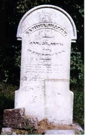 ULLERY, SAMUEL - Montgomery County, Ohio | SAMUEL ULLERY - Ohio Gravestone Photos