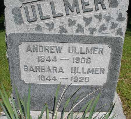 ULLMER, BARBARA - Montgomery County, Ohio | BARBARA ULLMER - Ohio Gravestone Photos