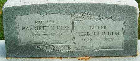 ULM, HARRIETT K - Montgomery County, Ohio | HARRIETT K ULM - Ohio Gravestone Photos