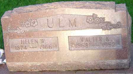 ULM, HELEN W - Montgomery County, Ohio | HELEN W ULM - Ohio Gravestone Photos