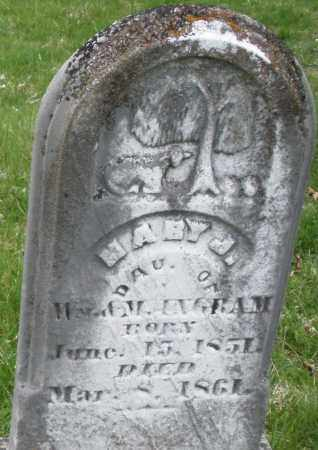 UNGRAM, MARY J. - Montgomery County, Ohio | MARY J. UNGRAM - Ohio Gravestone Photos