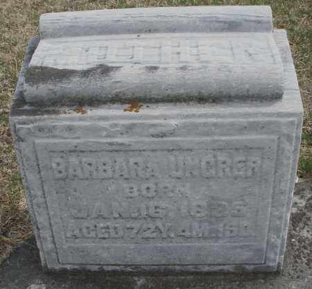 UNGRER, BARBARA - Montgomery County, Ohio | BARBARA UNGRER - Ohio Gravestone Photos