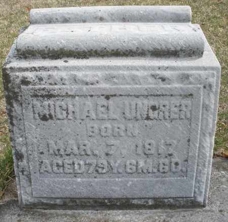 UNGRER, MICHAEL - Montgomery County, Ohio | MICHAEL UNGRER - Ohio Gravestone Photos