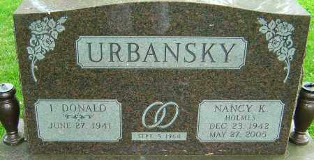 URBANSKY, NANCY K - Montgomery County, Ohio | NANCY K URBANSKY - Ohio Gravestone Photos