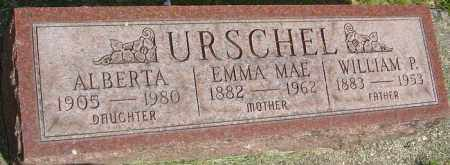 URSCHEL, WILLIAM PETER - Montgomery County, Ohio | WILLIAM PETER URSCHEL - Ohio Gravestone Photos