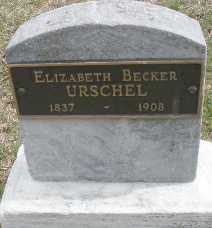 URSCHEL, ELIZABETH - Montgomery County, Ohio | ELIZABETH URSCHEL - Ohio Gravestone Photos