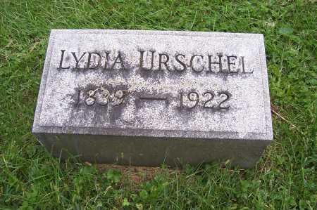 APPLE URSCHEL, LYDIA - Montgomery County, Ohio | LYDIA APPLE URSCHEL - Ohio Gravestone Photos