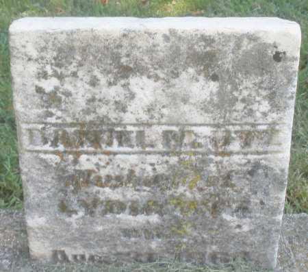 UTZ, DANIEL M. - Montgomery County, Ohio | DANIEL M. UTZ - Ohio Gravestone Photos