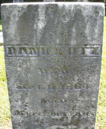 UTZ, DANIEL - Montgomery County, Ohio | DANIEL UTZ - Ohio Gravestone Photos