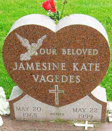 VAGEDES, JAMESINE KATE - Montgomery County, Ohio | JAMESINE KATE VAGEDES - Ohio Gravestone Photos