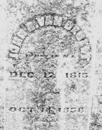 VAN DEBELT ?, JOHN R. - Montgomery County, Ohio | JOHN R. VAN DEBELT ? - Ohio Gravestone Photos