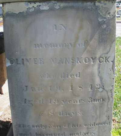 VAN SKOYCK, OLIVER - Montgomery County, Ohio | OLIVER VAN SKOYCK - Ohio Gravestone Photos