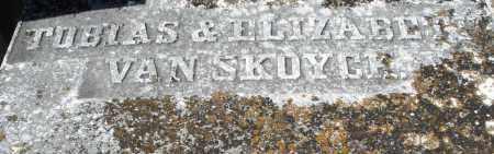 VAN SKOYCK, ELIZABETH - Montgomery County, Ohio | ELIZABETH VAN SKOYCK - Ohio Gravestone Photos