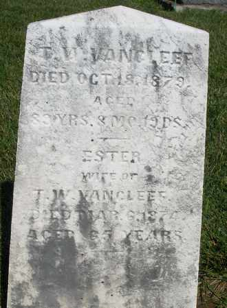 VANCLEEF, ESTER - Montgomery County, Ohio | ESTER VANCLEEF - Ohio Gravestone Photos