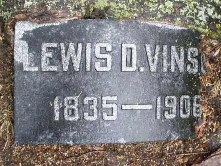 VINSON, LEWIS D. - Montgomery County, Ohio | LEWIS D. VINSON - Ohio Gravestone Photos
