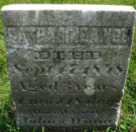 VOE, CATHARINE - Montgomery County, Ohio | CATHARINE VOE - Ohio Gravestone Photos