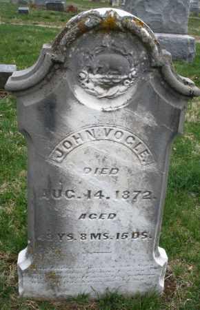 VOGLE, JOHN - Montgomery County, Ohio | JOHN VOGLE - Ohio Gravestone Photos