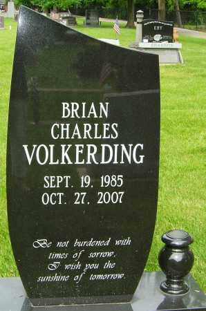 VOLKERDING, BRIAN CHARLES - Montgomery County, Ohio | BRIAN CHARLES VOLKERDING - Ohio Gravestone Photos