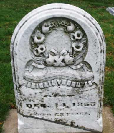 VOORHEES, ABIGAIL - Montgomery County, Ohio | ABIGAIL VOORHEES - Ohio Gravestone Photos