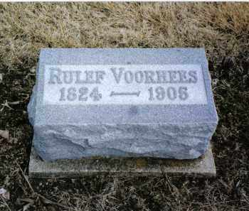 VOORHEES, RULEF - Montgomery County, Ohio | RULEF VOORHEES - Ohio Gravestone Photos