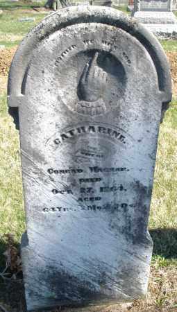 WAGNER, CATHARINE - Montgomery County, Ohio | CATHARINE WAGNER - Ohio Gravestone Photos