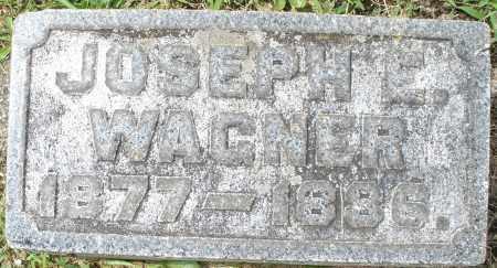 WAGNER, JOSEPH E.. - Montgomery County, Ohio | JOSEPH E.. WAGNER - Ohio Gravestone Photos