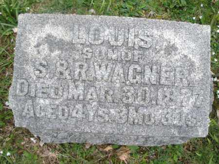 WAGNER, LOUIS - Montgomery County, Ohio | LOUIS WAGNER - Ohio Gravestone Photos