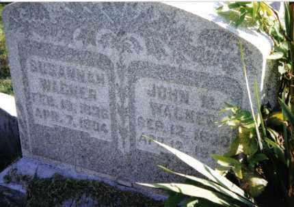 WAGNER, SUSANNAH - Montgomery County, Ohio | SUSANNAH WAGNER - Ohio Gravestone Photos