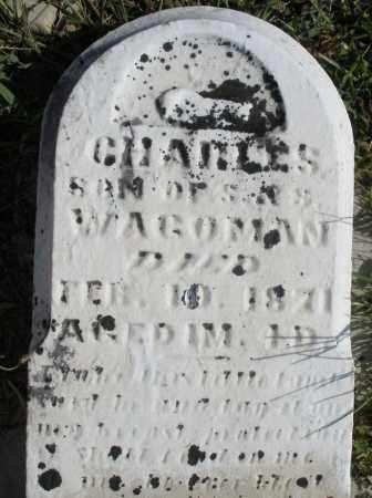 WAGOMAN, CHARLES - Montgomery County, Ohio | CHARLES WAGOMAN - Ohio Gravestone Photos
