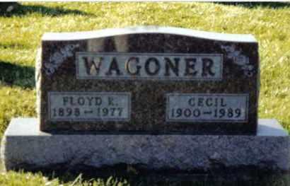 WAGONER, CECIL - Montgomery County, Ohio | CECIL WAGONER - Ohio Gravestone Photos