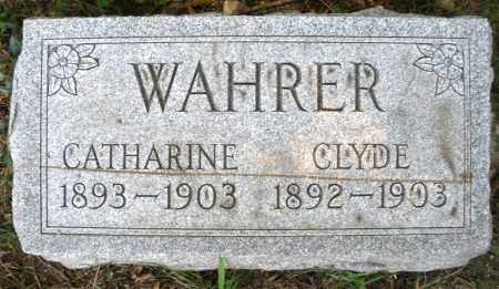 WAHRER, CATHARINE - Montgomery County, Ohio | CATHARINE WAHRER - Ohio Gravestone Photos