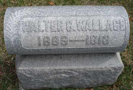 WALLACE, WALTER G. - Montgomery County, Ohio | WALTER G. WALLACE - Ohio Gravestone Photos