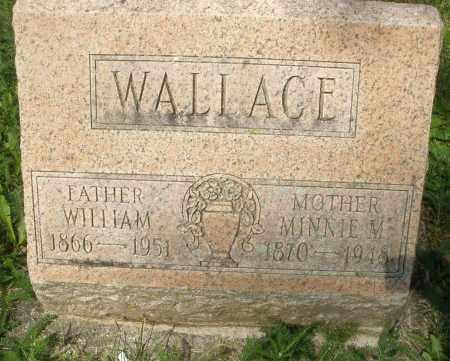 WALLACE, MINNIE M. - Montgomery County, Ohio | MINNIE M. WALLACE - Ohio Gravestone Photos