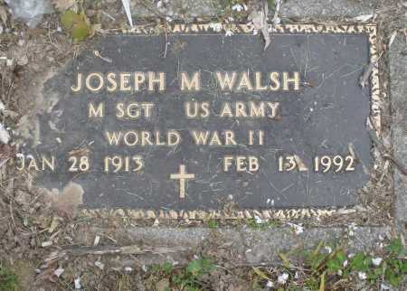 WALSH, JOSEPH M. - Montgomery County, Ohio | JOSEPH M. WALSH - Ohio Gravestone Photos