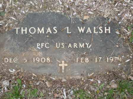 WALSH, THOMAS L. - Montgomery County, Ohio | THOMAS L. WALSH - Ohio Gravestone Photos