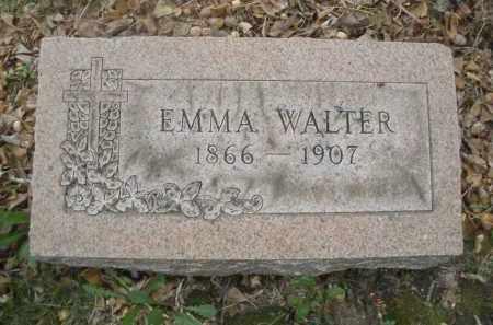 WALTER, EMMA - Montgomery County, Ohio | EMMA WALTER - Ohio Gravestone Photos