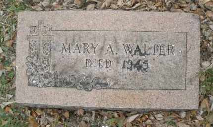WALTER, MARY A. - Montgomery County, Ohio | MARY A. WALTER - Ohio Gravestone Photos