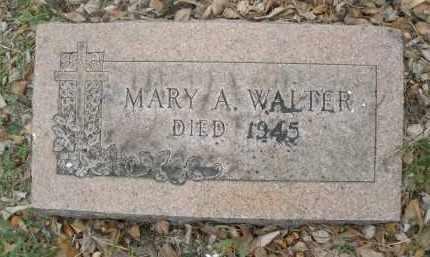 WALTER, MARY A. - Montgomery County, Ohio | MARY A. WALTER - Ohio Gravestone Photos