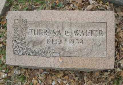 WALTER, THERESA C. - Montgomery County, Ohio | THERESA C. WALTER - Ohio Gravestone Photos