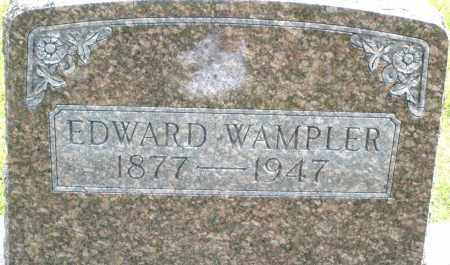 WAMPLER, EDWARD - Montgomery County, Ohio | EDWARD WAMPLER - Ohio Gravestone Photos