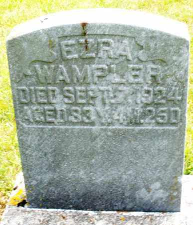 WAMPLER, EZRA - Montgomery County, Ohio | EZRA WAMPLER - Ohio Gravestone Photos