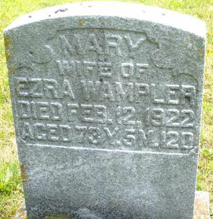 WAMPLER, MARY - Montgomery County, Ohio | MARY WAMPLER - Ohio Gravestone Photos