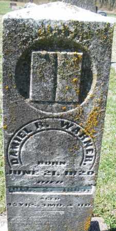 WARNER, DANIEL  R - Montgomery County, Ohio | DANIEL  R WARNER - Ohio Gravestone Photos