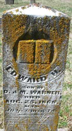 WARNER, EDWARD - Montgomery County, Ohio | EDWARD WARNER - Ohio Gravestone Photos