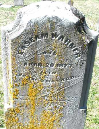 WARNER, ENSEAM - Montgomery County, Ohio | ENSEAM WARNER - Ohio Gravestone Photos