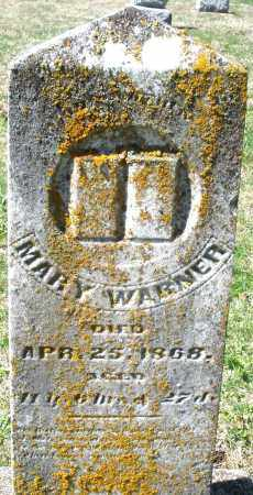 WARNER, MARY - Montgomery County, Ohio | MARY WARNER - Ohio Gravestone Photos