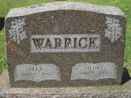 WARRICK, LELA - Montgomery County, Ohio | LELA WARRICK - Ohio Gravestone Photos