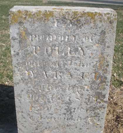 WARVEL, POLLY - Montgomery County, Ohio   POLLY WARVEL - Ohio Gravestone Photos